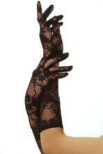 Leg Avenue weiße Designer Handschuhe aus Spitze Farbe: Weiß