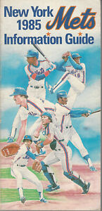 1985 New York Mets Information Guide