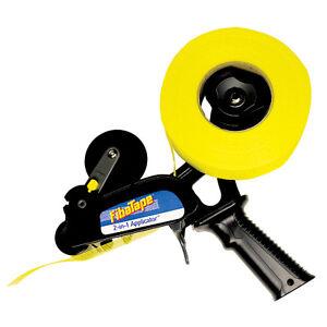 FibaTape Drywall Mesh Tape Applicator - Easy 1-Hand Operation for Fast Taping