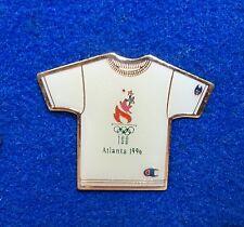 Champion Sports Wear Clothing Tee Shirt Shaped Olympic Sponsor Lapel Pin z3