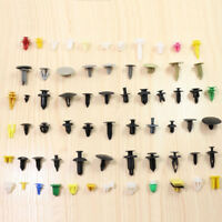 200pcs Plastic Car Various Rivet Fasteners Push Pin Trim Moulding Clip Panel-