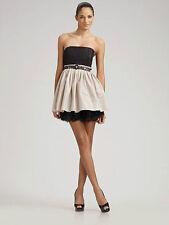 Alice + Olivia Strapless Belted Dress  L 10 12