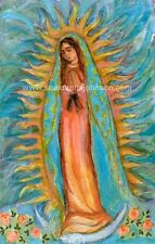 "OUR LADY OF GUADALUPE—Virgin Mary—13 x 17""—Catholic Art Print—Confirmation Gift"