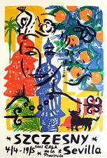 STEFAN SZCZESNY -  Große Farblithographie - HANDSIGNIERT,NUM. VK: 790 Euro