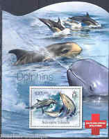 SOLOMON ISLANDS 2012 DOLPHINS SOUVENIR  SHEET