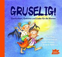 DIMITER INKIOW,SANDRA GRIMM,FREDRIK PAUL MAAR - GRUSELIG! GESCHICHTEN  CD NEW