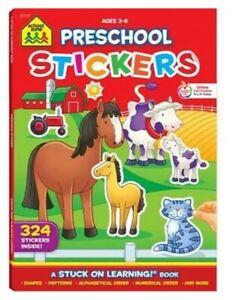 Preschool Stickers (Paperback or Softback) B