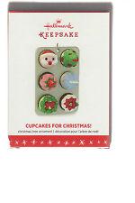 "2016  ""CUPCAKES FOR CHRISTMAS""  Hallmark  Keepsake Ornament  ""LIMITED EDITION"""