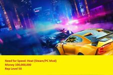 Need for Speed: Heat (Steam/PC Mod)- Max Money 10M/ Max Rep 50