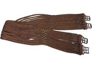 "Stubben soft rope cord girth, Brown,48"". (ref. 140R)"
