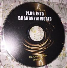 Plug into  a Brand-New World CD USED Version 3.1