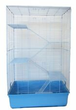 5 Levels Indoor Animal Cage Cat Ferret With Stand In Blue