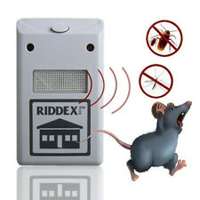 2018 Ultrasonic Plug in Mice Mouse Rodent Rat Spider Ant Repeller Pest Control