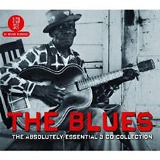 THE BLUES: THE ABSOLUTELY ESSENTIAL - MUDDY WATERS, B.B. KING 3CD 3 CD NEUF