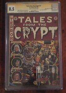 TALES FROM THE CRYPT #33 CGC 8.5 Jack Davis Signed Davis Crippen D Copy EC Comic