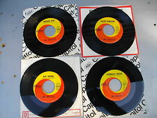 BEATLES ORANGE/YELLOW SWIRL 45 RECORDS NOWHERE MAN PAPERBACK WRITER DAY TRIPPER