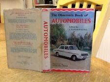 Observers Book Of Automobiles 1962 USA EDITION $$