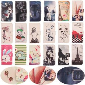 Pour Kenxinda/Asus Zenfone- Lovely Flip PU Housse Cuir Coque Case Cas Cover Etui