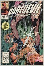 Daredevil #260 November 1988 VG/FN Typhoid Mary