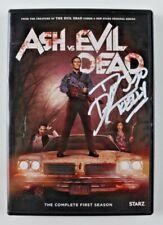 """Dana DeLorenzo Signed """"Ash Vs. Evil Dead"""" Dvd Case Inscribed """"Kelly"""" (Jsa Coa)"""
