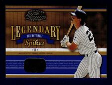 Don Mattingly 2003 Donruss Classics Legendary Spikes 34/50 Mint 16340
