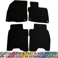 For Honda Civic MK8 2008-2011 Fully Tailored 4 Piece Car Mat Set with 4 Clips