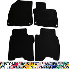 Honda Civic MK8 2008-2011 3/5 Doors Fully Tailored 4 Piece Car Mat Set 4 Clips