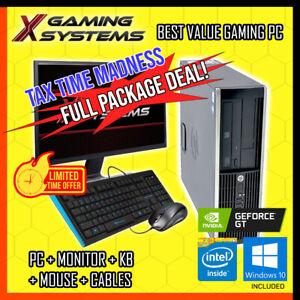 CHEAPEST Intel | Full Setup Gaming PC Package Bundle Computer Office Desktop