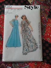 Style 1352 Vintage dress sewing pattern size 12