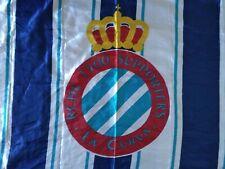 Bandera Flag Fahne RCD ESPANYOL Barcelona LA CURVA 1900 Size L Grande