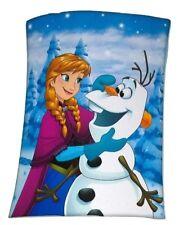 Disney Frozen/Eiskönigin Fleecedecke/Kuscheldecke 130 x 160 cm Anna/Olaf