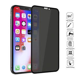 Sichtschutz Glas Blickschutzfolie iPhone Privacy Glass Anti-Spy Panzerfolie 9H