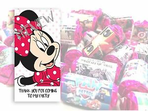 Mini Mouse Mini Love Hearts Sweets Party Bag Fillers Kids Childrens #21