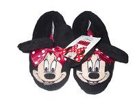 Girls Slippers Disney Minnie Mouse Black