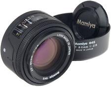 MAMIYA AF 80 mm 2.8 + capuche - 645 -