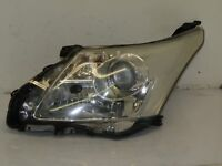 TOYOTA AVENSIS T27 2009 RHD FRONT LEFT HEADLIGHT LIGHT LAMP 8116605310