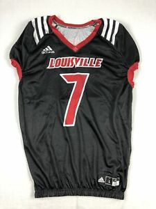 Louisville Cardinals adidas Jersey Men's Black Poly Used Multiple Sizes