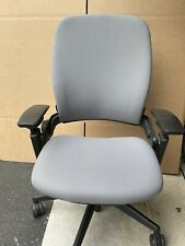 Steelcase Leap Chair V2 Fully Loaded Grey Fabric