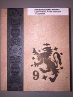 Drew Estate Liga Privada No. 9 TORO OSCURO Undercrown Wooden Cigar Box Humidor