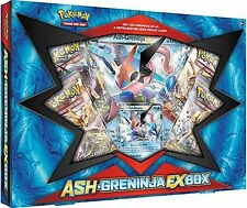 Pokémon TCG: Ash-Greninja-EX Box with XY133 Normal & Jumbo Holo Card - Sealed