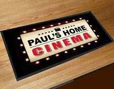 Personalised Home Cinema movie board Bar runner