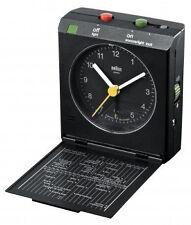Braun Bnc005 Reise-klappwecker schwarz
