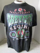 Vintage 1995 Football Grey Cup Regina Sasketchewan Black T-shirt Size Large
