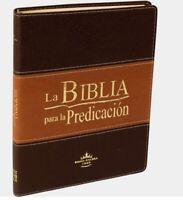 La Biblia para la Predicación RVR60 - Letra Grande, imitación piel duotone