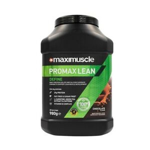 Maximuscle Promax Lean Protein Powder for Muscle Definition 980g in Chocolate