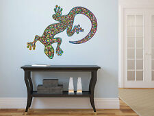 """Psychedelic Gecko Vinyl Wall Decal Graphics 24""""x22"""" Bedroom Home Decor"""