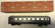 """Märklin H0 4014, 346/6 Schürzenwagen 1.Kl.  BLAU """"Deutsche Bundesbahn"""" TOP/OKT"""