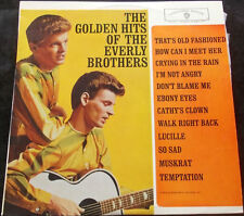 EVERLY BROTHERS The Golden Hits Of The Everly Brothers LP EARLY MONO FLIPBACK