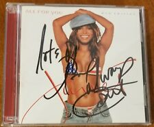 """JANET JACKSON SIGNED """"ALL FOR YOU"""" CD AND DVD. AUTOGRAPHED!"""