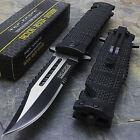 8.5' TAC FORCE SPRING OPEN ASSISTED TACTICAL FOLDING POCKET KNIFE EDC Blade